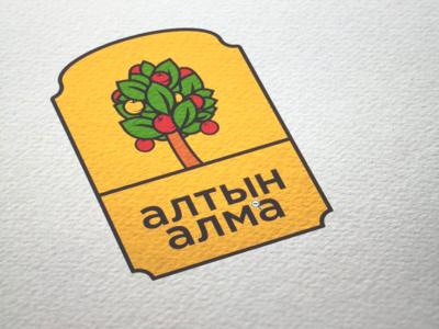 Altyn Alma logo brand logo