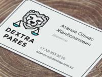 Dextra Pares Logo branding logo