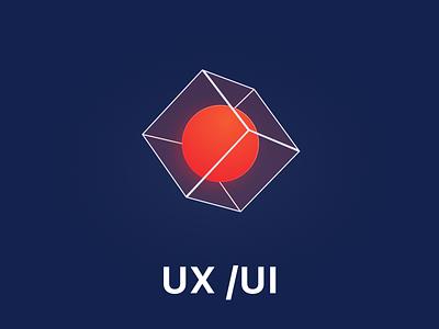 Logo Technology - Ux Ui 3d logo abstract brand e-commerce logo design color clean