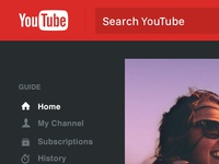 Youtube Homepage Redesign
