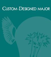 Custom-Designed Major with custom-typography