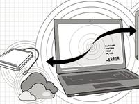 Data Crash! (backup files) Illustration
