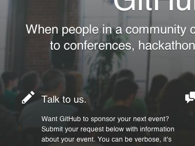 GitHub Sponsorships