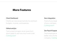 Scoreboard Product Page // Part II