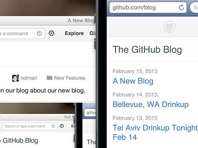 A New GitHub Blog blog github