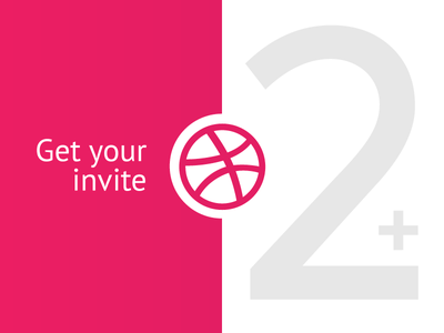 Invitations Giveaway (2 invites) (Finished) illustration draft type logo invite invitations giveaway dribbble
