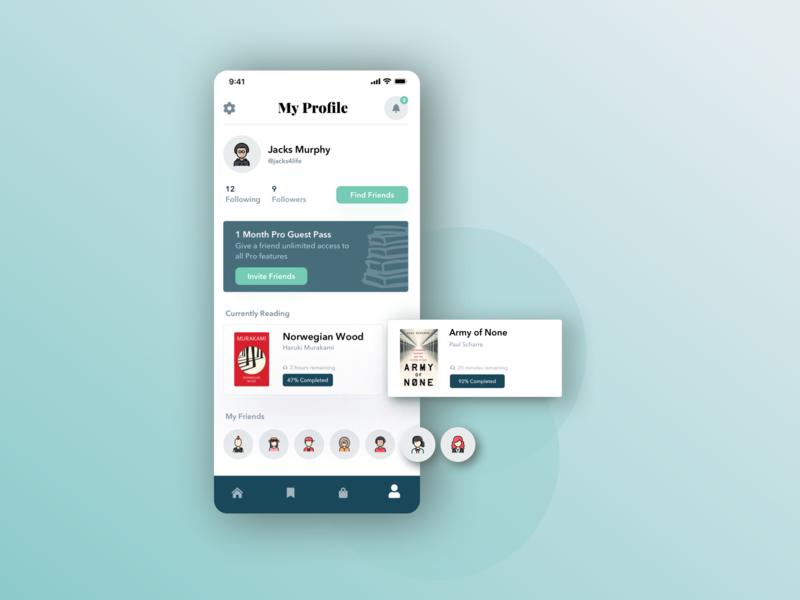Book App User Profile