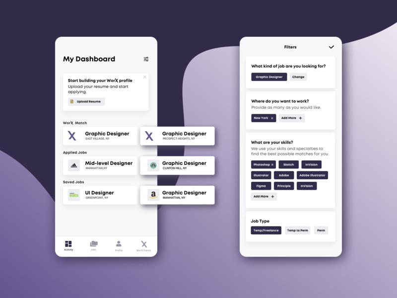 Job App Dashboard & Filters
