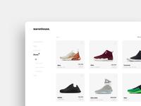 Minimal Sneaker Store