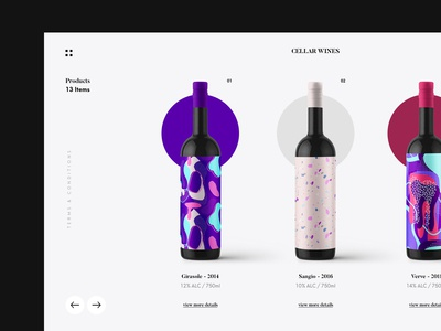 Wine Product Site