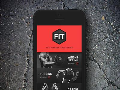 Gym App Concept