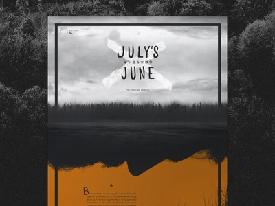 Julys June: Edition 1 of Frames Collection