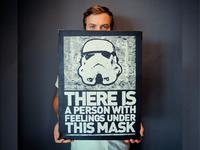 Storm Trooper Screen Print