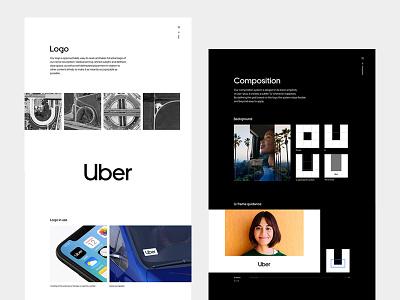 Uber Rebrand Case Study website case study uber design