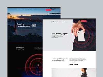 Proxy.com product web  design web