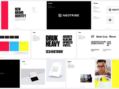 Neotribe Branding Guidlines rules type guidelines brand