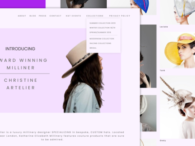Christine Artelier Website