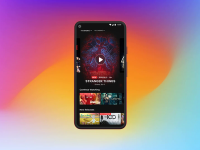 Video Streaming Service - Mobile app twitch shows platform hotstar daily netflix movie uiux ui ux video