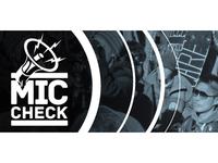 Mic Check Web Banner