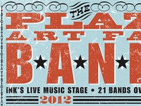 Plaza art fair bands