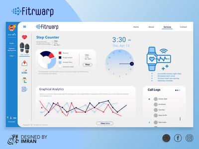 FITRWAP UI /UX Design