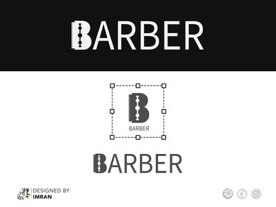 Barber logo illustration