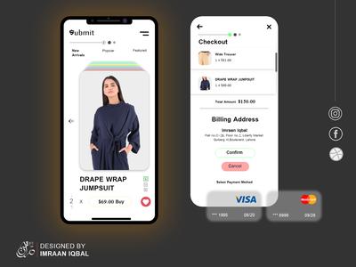Brand mobile app UI UX
