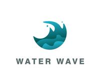 Circle wave Simple Logo