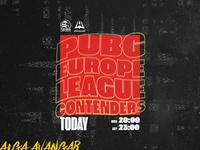 AVANGAR x PUBG Europe League Poster