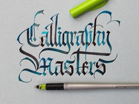 Callivember_calligraphy masters