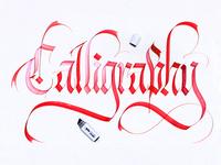 Callivember_calligraphy