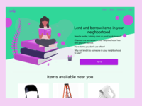 Daily UI Challenge #003: Landing Page