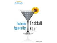 Solar Cocktail Hour
