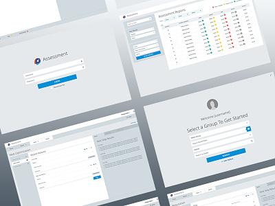 Assessment App front end app ui dashboard ux ui
