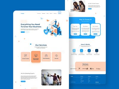 Marketing Agency - Web-design