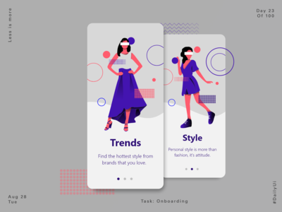 Fashion Concept - Onboarding