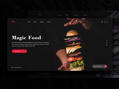 Restaurant Landing Page