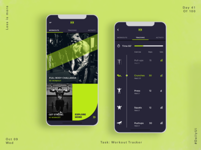 041 Workout Trackert App