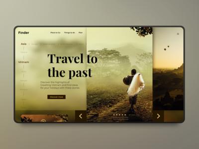 Finder Travelling   Webdesign