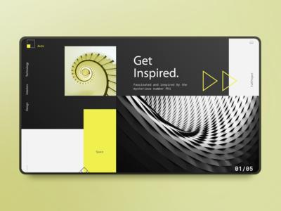 Futuristic Architecture Landing Page