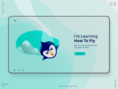 048 Coming Soon - Landing Page