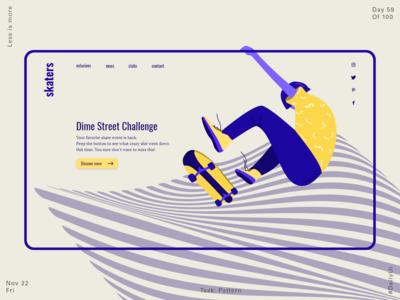 059 Pattern + Landing Page