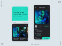 070 Music Events App -Gigs/Fans