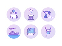 Fedex icons