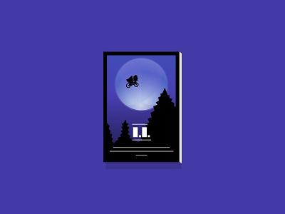 ▌. ▌. ▌▌▌ ▌▌▌▌▌ ▌▌▌▌▌▌▌▌▌▌▌ spielberg alien e.t poster movies minimalist frame