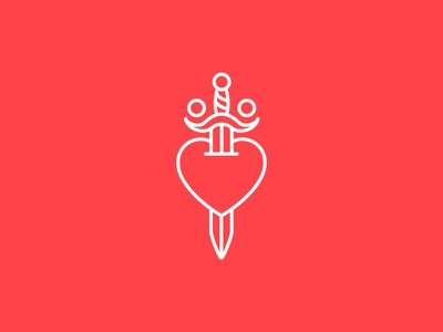 Boom snowwhite icon tattoo sword heart