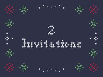 Invitations x2