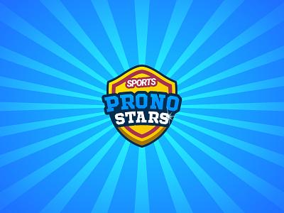 PronoStars mobile application mobile application mobile application video game game cartoon design bet icon ps logo sport we are chev creationy pronostars