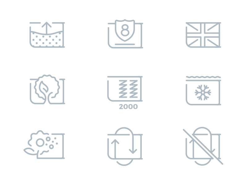 Mattress Icons illustration mattress icons icon