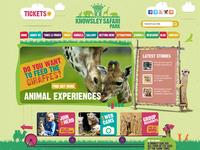 Knowsley Safari Park Website